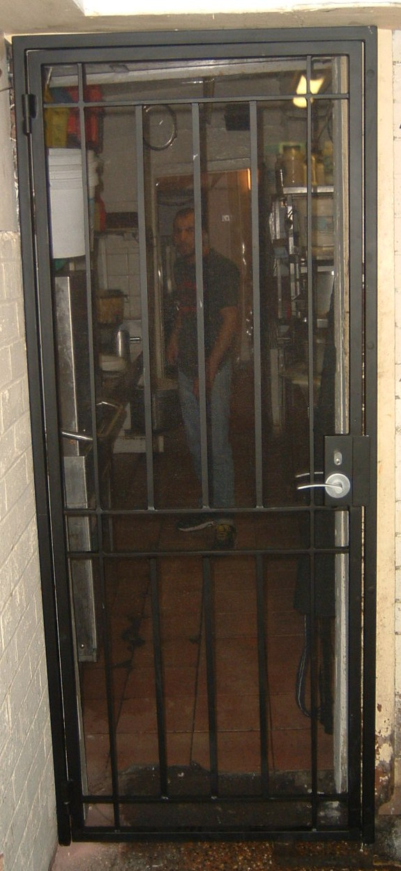 Security Window Film >> Wrought Iron Security Doors