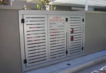 Aluminium Pedestrian Gates Security365